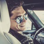 driver smiling